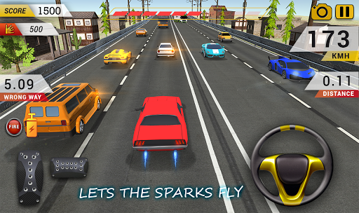 Highway Car Driving : Highway Car Racing Game 1.7 6