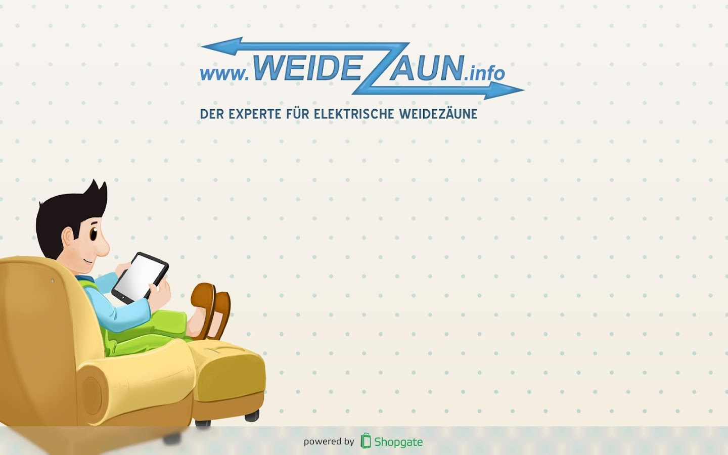 weidezaun.info Shop- screenshot