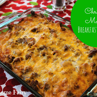 Christmas Morning Breakfast Casserole Recipe