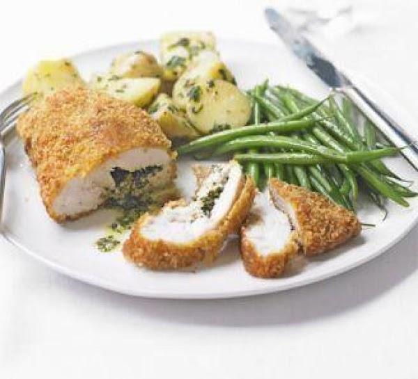Light Chicken Kiev 4 Servings Recipe