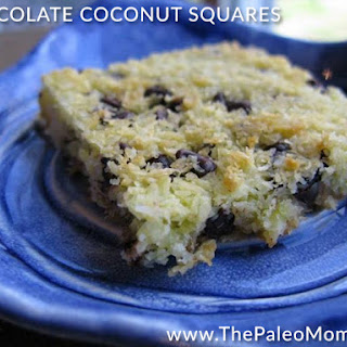 Simple Chocolate-Coconut Squares