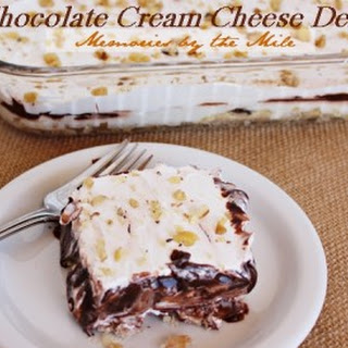 Chocolate Cream Cheese Delight.