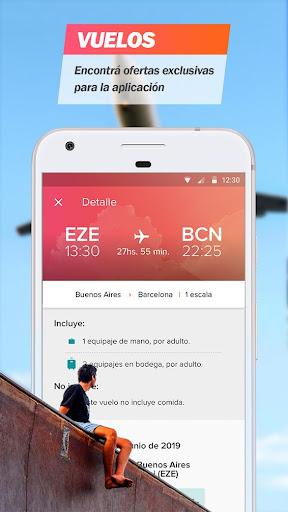 Almundo - Vuelos, Hoteles y mu00e1s 3.15.1 screenshots 1