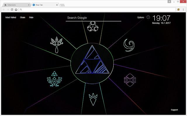 The Legend Of Zelda Wallpapers HD New Tab