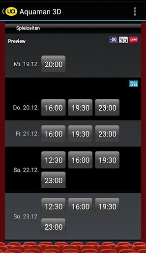 UCI KINOWELT Filme & Tickets 2.40 screenshots 5