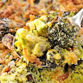Cheese Broccoli Casserole.