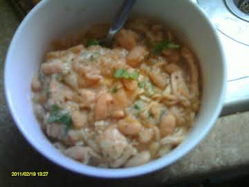 Tara's fast chicken Chili