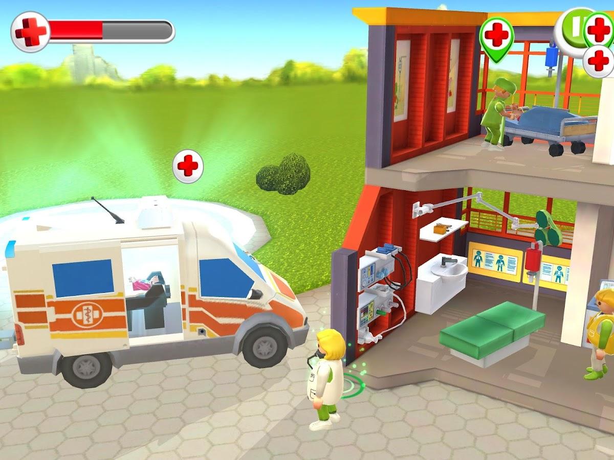 Playmobil kinderklinik android apps auf google play for Hospital de playmobil