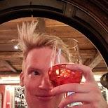 Negroni cocktail at Alpen Resort, Zermatt in Zermatt, Valais, Switzerland