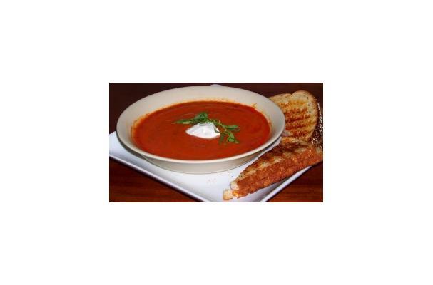 Warm and Comforting Light Tomato Tarragon Soup Recipe