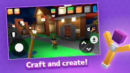 screenshot of Crafty Lands - Craft, Build and Explore Worlds