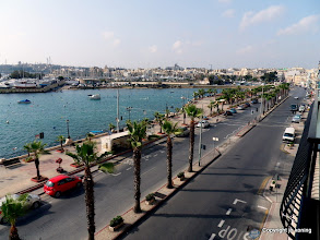 Photo: Sliema. 'The Strand'.  http://www.loki-travels.eu/
