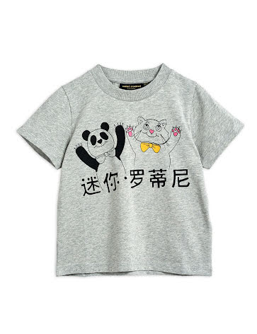 Mini Rodini Cat And Panda T-shirt