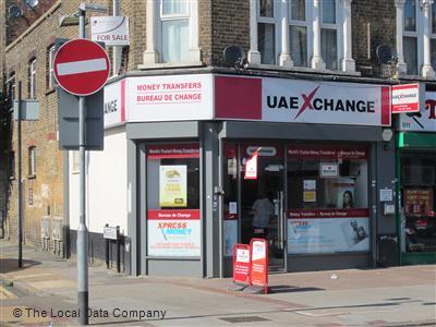 Uae xchange on romford road bureaux de change in east ham london