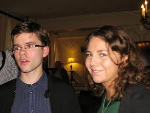 Photo: Alexey Grigoriev and Yaroslava Serdobolskaya