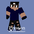Skin Preston and Maps for Minecraft