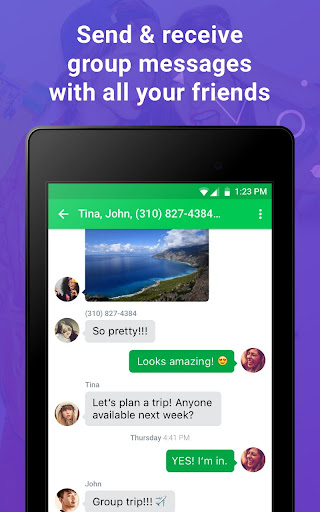Nextplus Free SMS Text + Calls  screenshots 18