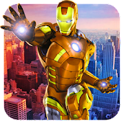 Game Flying Iron Ninja Rescue Mafia Crime APK for Windows Phone