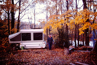 Photo: Lorraine by camper, Fall colors 1993.
