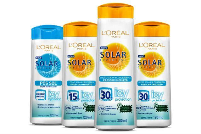 Amostra grátis: L'Oreal Solar Expertise