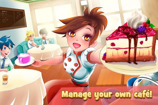Dessert Chain: Cafu00e9 Waitress & Restaurant Chef 0.8.10 screenshots 2