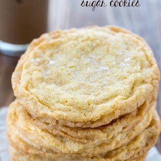 Cornmeal Sugar Cookies.