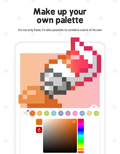 Pixel ColorFil: Color by Number screenshots 13