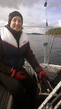 Photo: Nyt viileähköä menoa mutta elokuussa Lotta siirtyy Dubain purjehtijaksi.