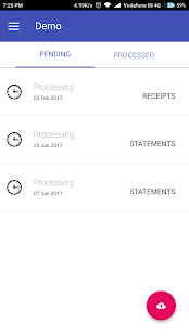 Receipts Manager by Zybra- screenshot thumbnail