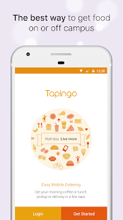 Tapingo- screenshot thumbnail