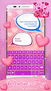 Valentine's Day Love Keyboard screenshot 2