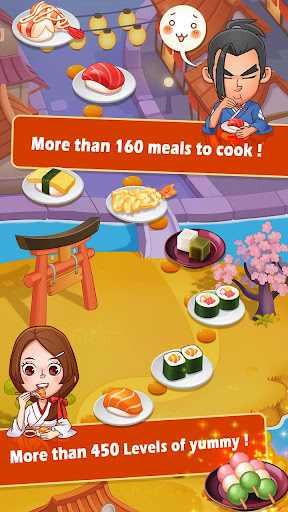 Sushi Master - Cooking story  captures d'u00e9cran 2