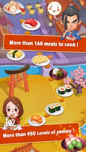 Sushi Master – Cooking story 3.1.0 MOD (Unlimited Money) 3