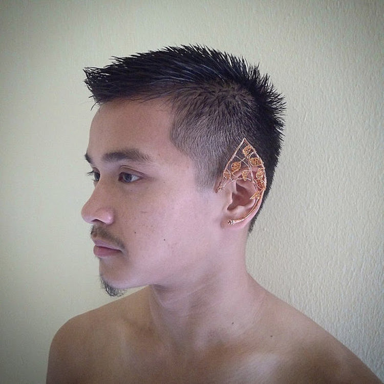 Myth Series EAR CUFF by MosesisM : Myth 0001. fully handmade and easy to wear, no piercing hole need