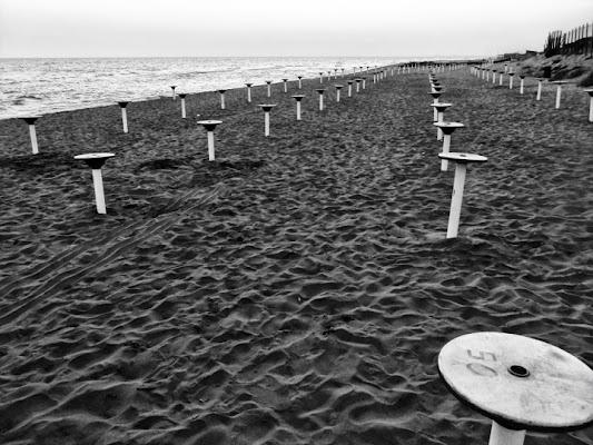Il riposo della spiaggia di Marino Paroli