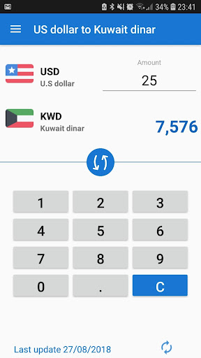 Us Dollar To Kuwaiti Dinar Converter