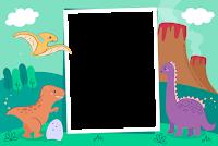 molduras-para-fotos-gratis-baby-dinossauro