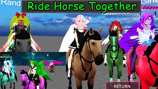 SchoolGirl AI - 3D Multiplayer Sandbox Simulator apkdebit screenshots 13