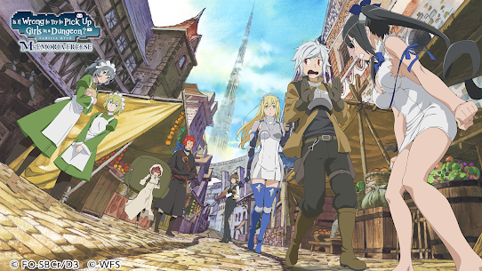 DanMachi – MEMORIA FREESE Mod Apk Download For Android and Iphone 1