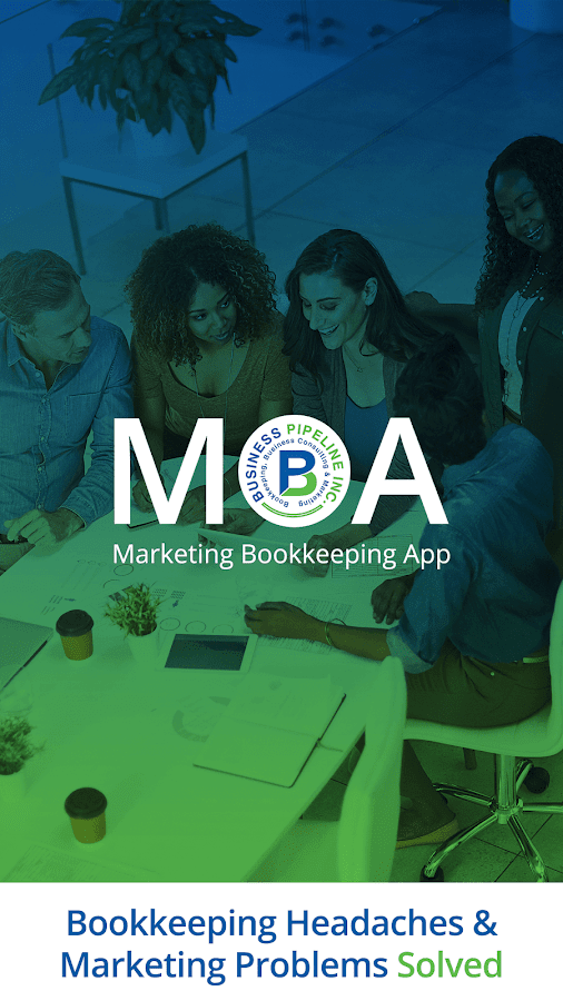 Marketing Bookkeeping App- screenshot