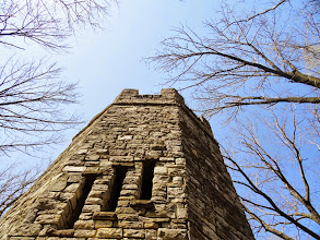 Photo: Castle towering with the trees at Hills and Dales Park in Dayton, Ohio.
