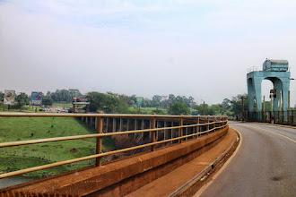 Photo: The dam at Lake Victoria