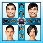 Hairstyle Changer hairstyle changer photo editor poster hairstyle changer photo editor apk screenshot Hairstyle Changer