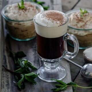 Traditional Irish Coffee.