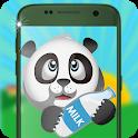Little Panda Lock Screen icon