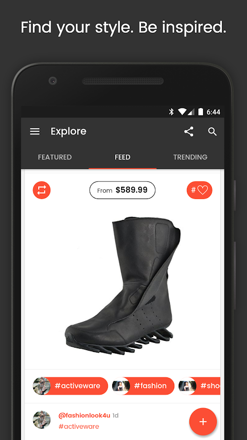 Shopography - Social Shopping- screenshot