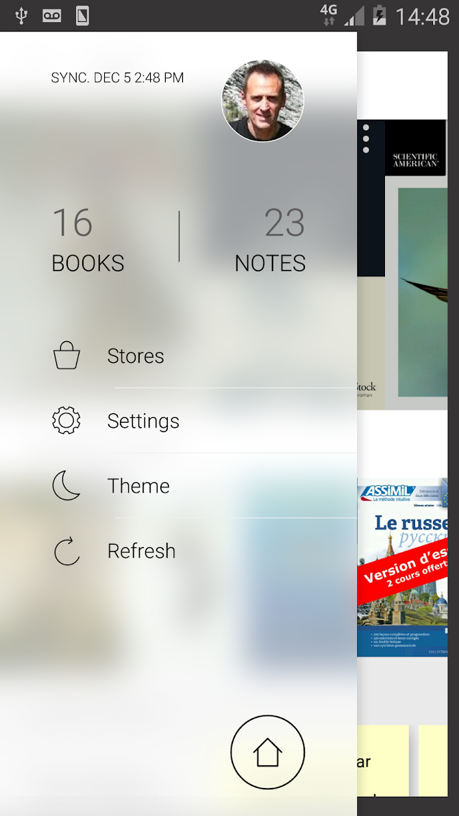 Bookari Ebook Reader Premium Android 1