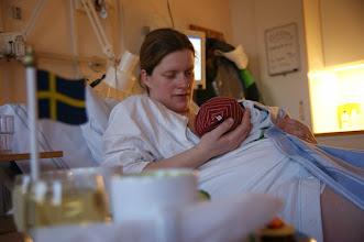 Photo: Kurz nach der Geburt 16:27