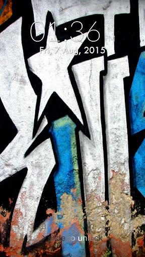 Graffiti Lock Screen