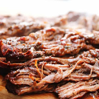 Easy Barbecue Beef Brisket.